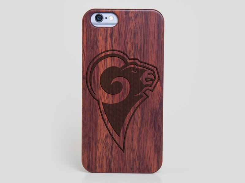 Los Angeles Rams iPhone SE Case - All Wood Everything