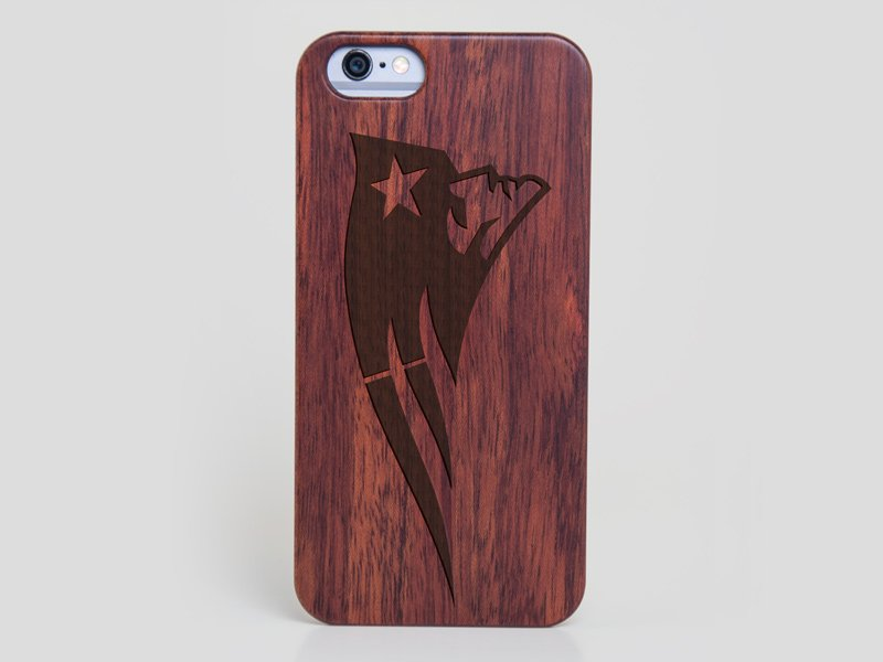 the best attitude bd459 1a5d0 New England Patriots iPhone 6 Case - Wood iPhone 6 Cover