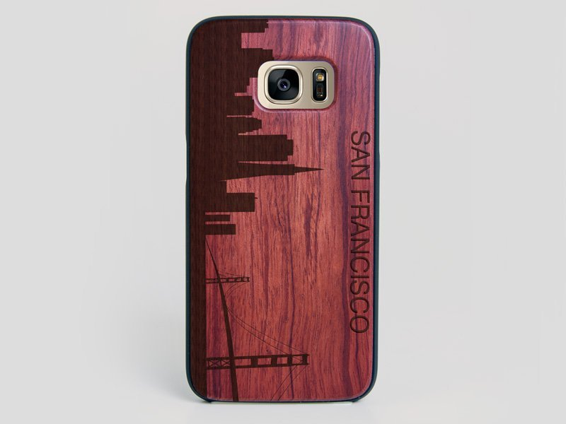San Francisco Skyline Galaxy S7 Edge Case