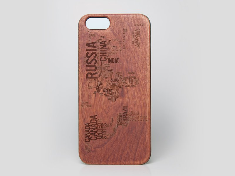 World Map iPhone 6 case