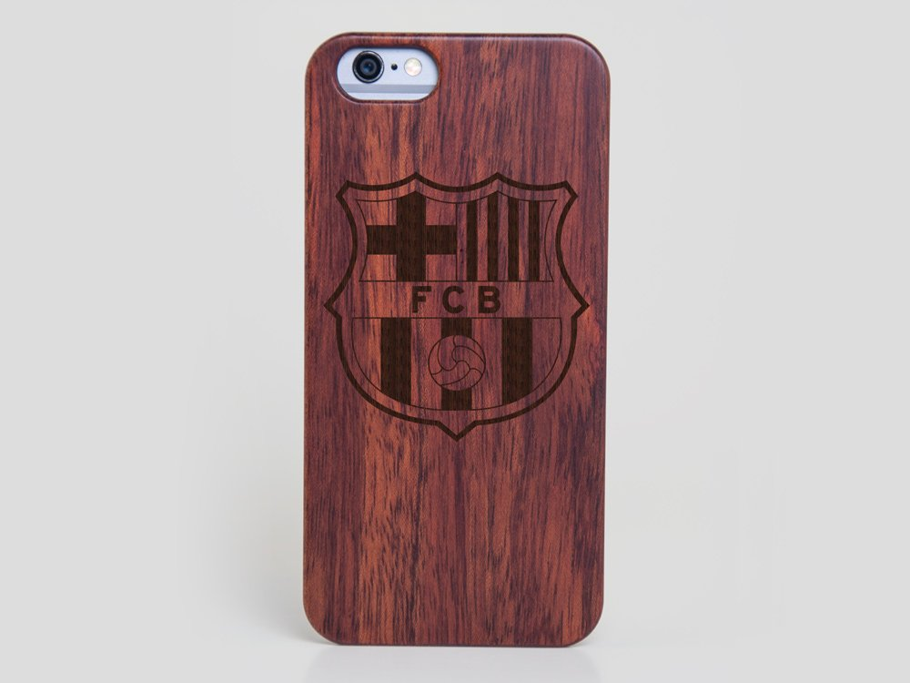 the best attitude 62952 d13a0 Wooden FC Barcelona iPhone 5s Case - Wood iPhone 5s Cover Lionel Messi Cover