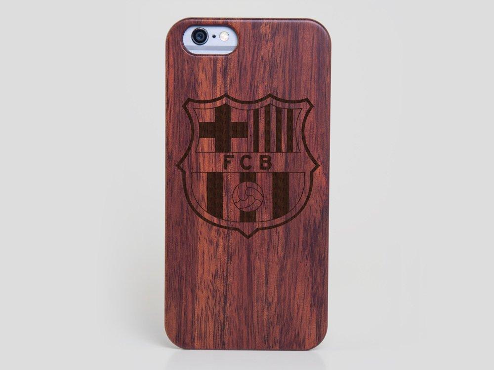 b956d14d2e Wooden FC Barcelona iPhone 6 Plus Case – Wood iPhone 6 Plus Cover Lionel  Messi Cover