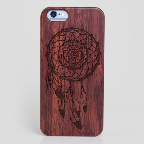 Wooden Dreamcatcher iPhone 5s Feathers Case