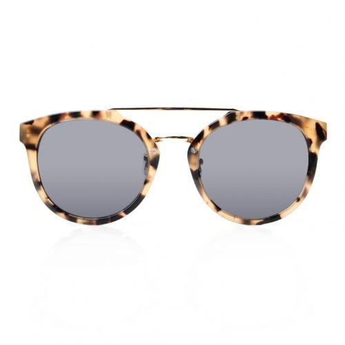 Womens Leopard Wooden Sunglasses Front