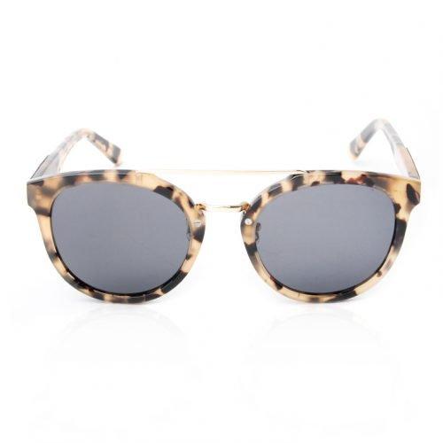 Womens Leopard Wooden Sunglasses Lean