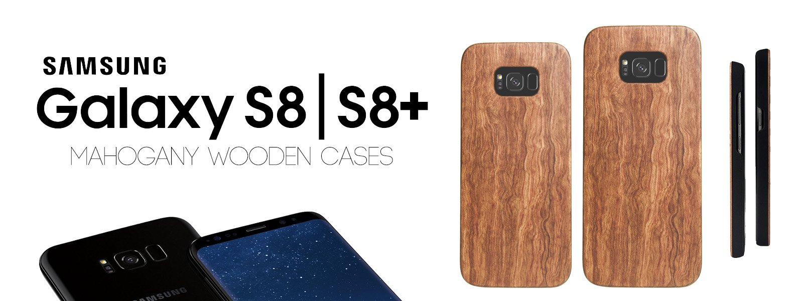 separation shoes 26150 cfabe Protective Wooden Galaxy S8 Plus Cases - All Wood Everything