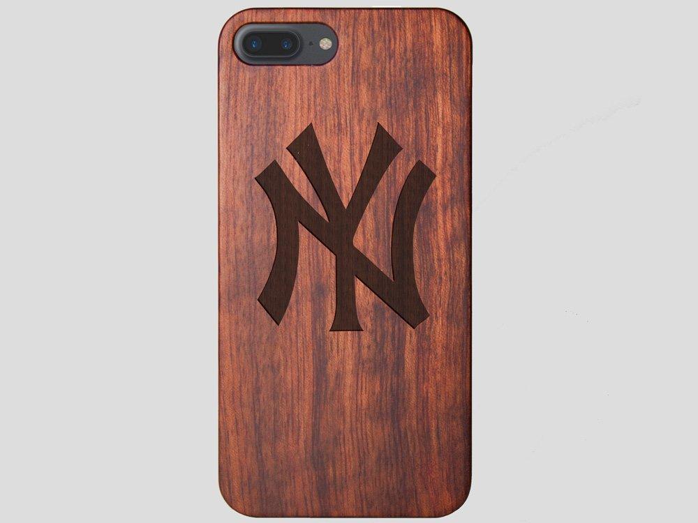 best website 201d8 2e68e New York Yankees iPhone 7 Plus Case Classic - Wood iPhone 7 Plus Cover