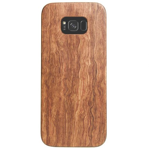 Wooden Galaxy S8 Case Mahogany Wood Galaxy S8 Cover Best Galaxy S8 Cases Real Wood