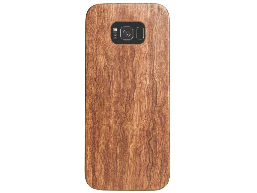 Wooden Galaxy S8 Plus Case Mahogany Wood Galaxy S8+ Cover Best Galaxy S8 Plus Cases Real Wood
