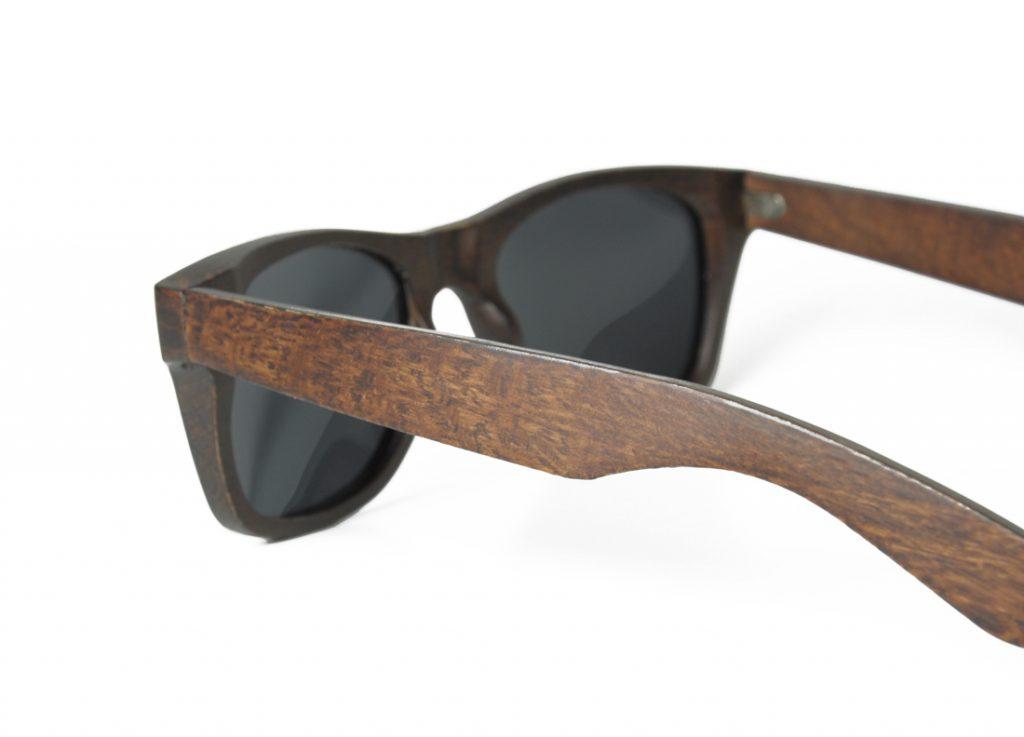 Mens Wooden Sunglasses Handmade Mahogany Wayfarer Wood Sunglasses