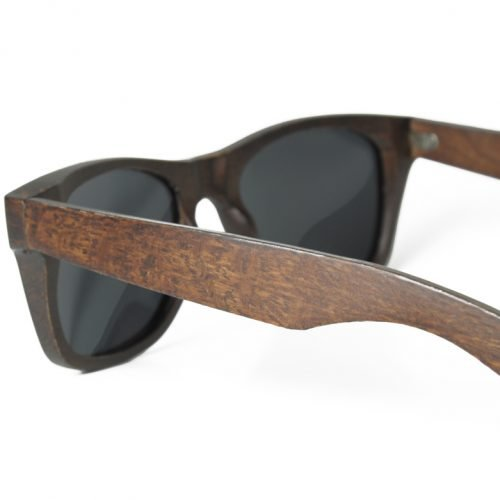 Mens Wooden Sunglasses Handmade Mahogany Wayfarer Wood Sunglasses