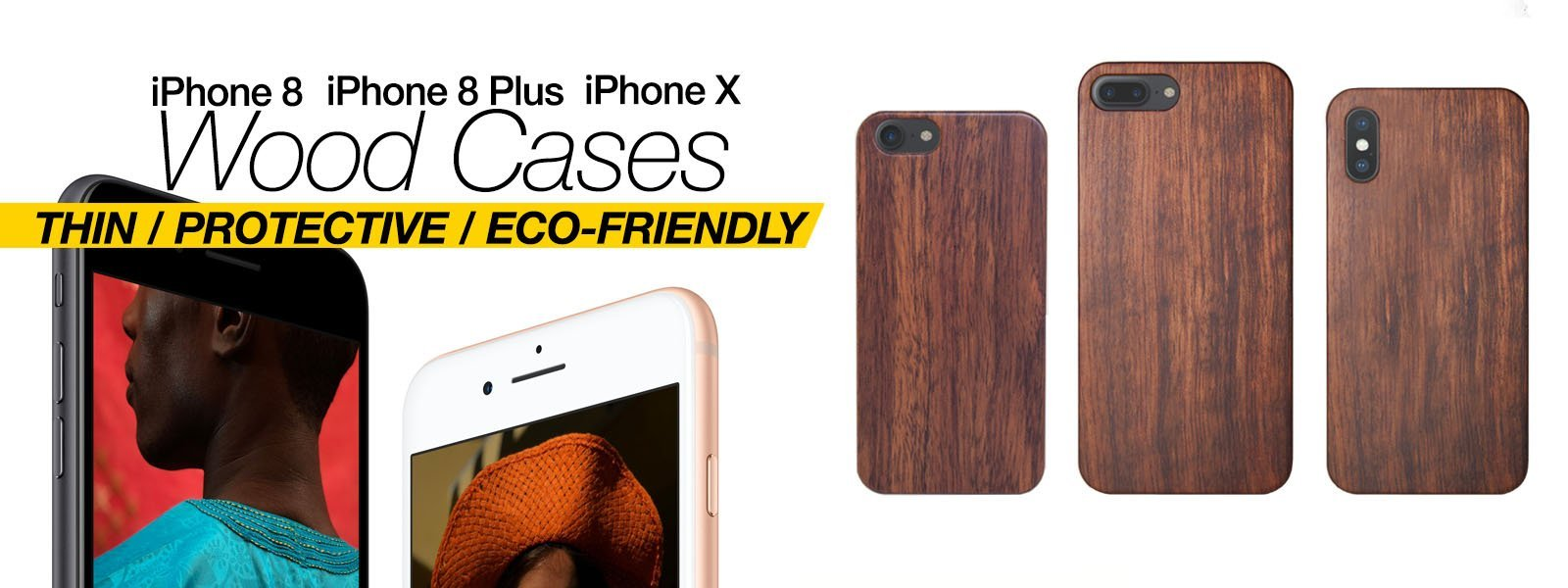 Wood Case For iPhone X iPhone 8 iPhone 8 Plus Case