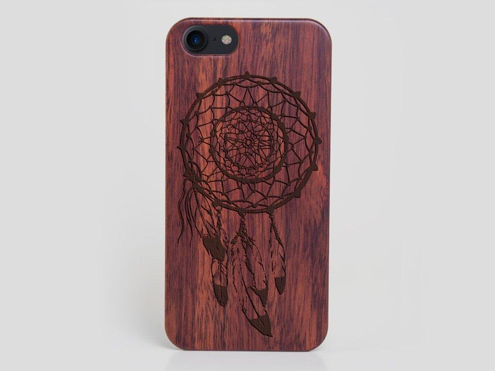 Wooden Dreamcatcher iPhone 8 Case Feathers Case