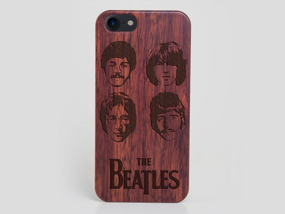 Wooden The Beatles iPhone 8 Case John Lennon Case