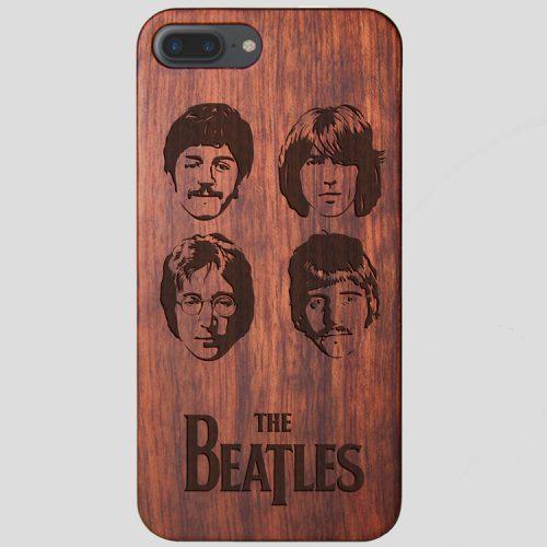 Wooden The Beatles iPhone 8 Plus Case John Lennon Case