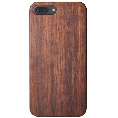 Wood iPhone 8 Plus Case Mahogany Wooden iPhone 8 Plus Cover Best iPhone 8 Plus Cases Real Wood