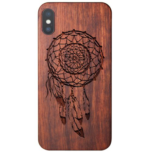 Wooden Dreamcatcher iPhone X Case Feathers Case