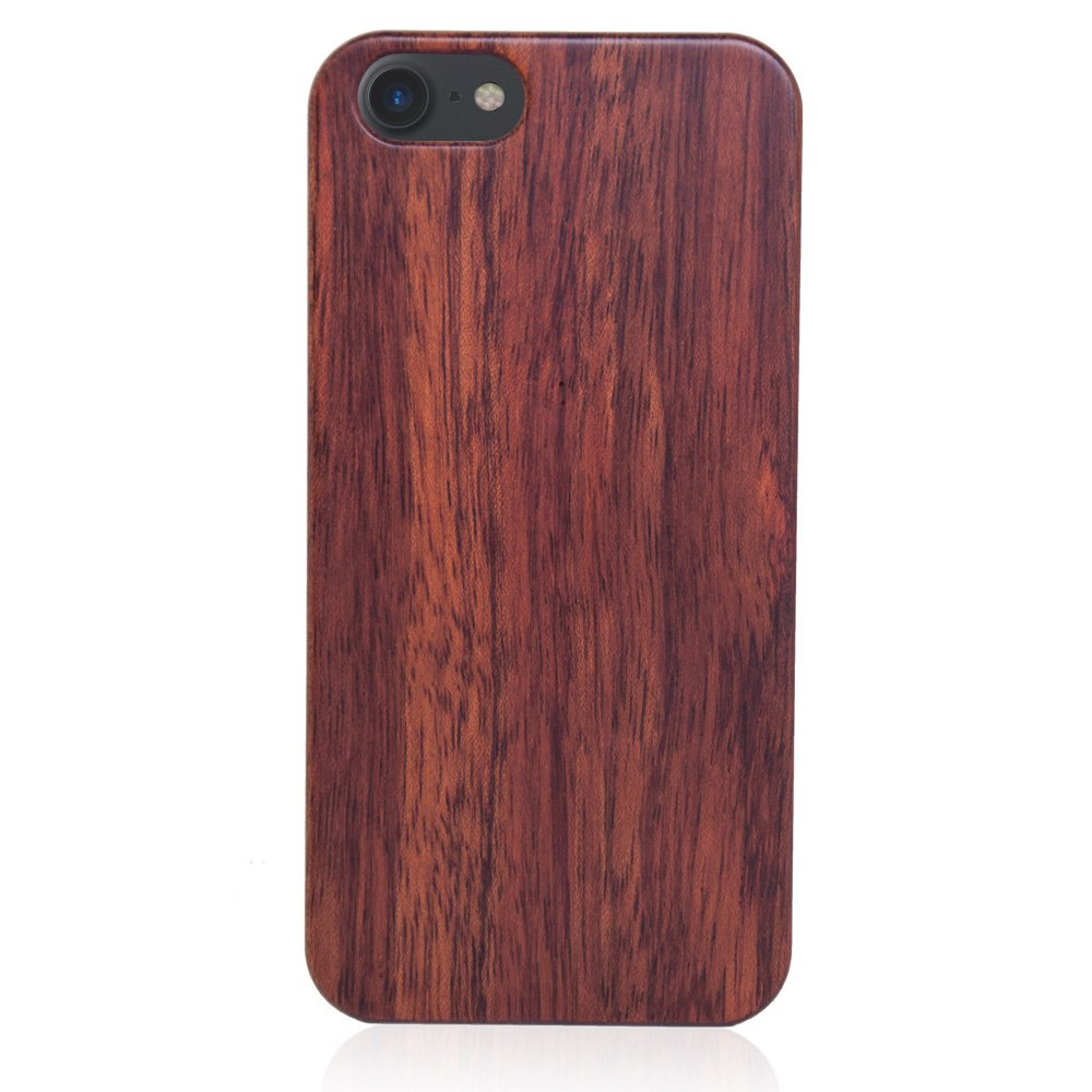Wood Iphone 8 Case Mahogany Wooden Iphone 8 Cover All