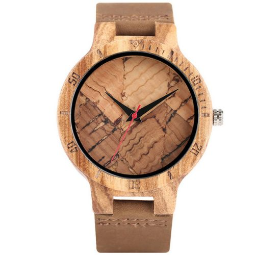 Wooden Watch River Trail Wood Watch Front