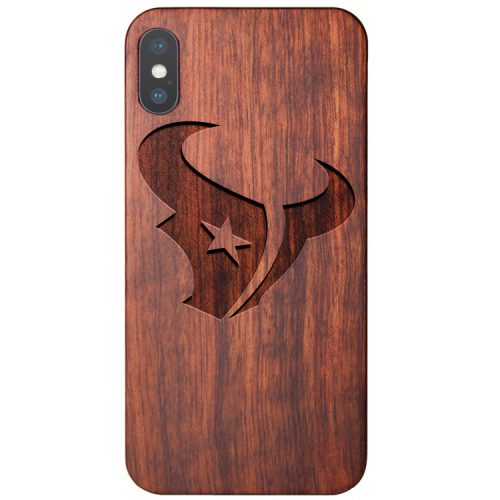 Wooden Houston Texans iPhone X Case New Texans iPhone X Cover