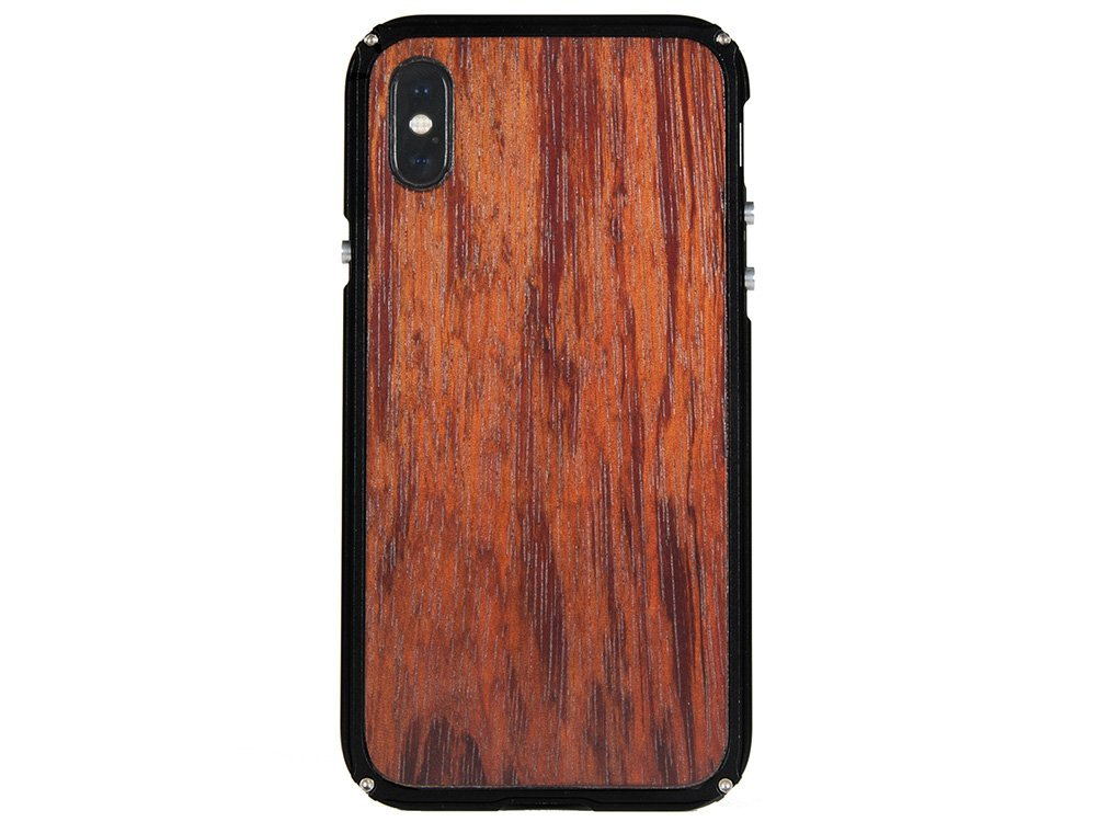 Metal and Wood iPhone X Cases - iPhone X Cover - All Wood