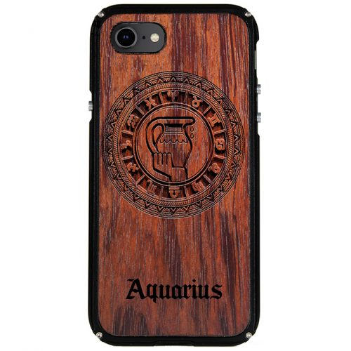 Aquarius iPhone 8 Case Aquarius Tattoo Horoscope iPhone 8 Cover