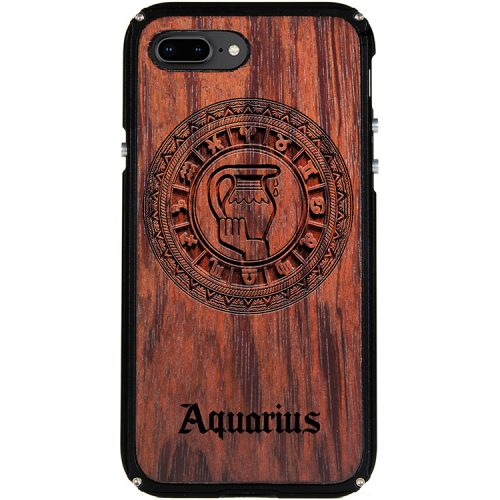 Aquarius iPhone 8 Plus Case Aquarius Tattoo Horoscope iPhone 8 Plus Cover