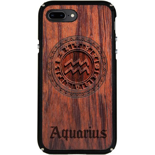 Aquarius iPhone 8 Plus Case Aquarius Zodiac Tattoo Horoscope iPhone 8 Plus Cover