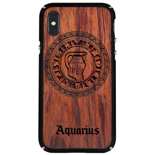 Aquarius iPhone X Case Aquarius Tattoo Horoscope iPhone X Cover