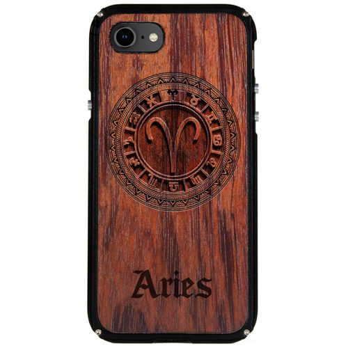 Aries iPhone 7 Case Aries Zodiac Tattoo Horoscope iPhone 7 Cover