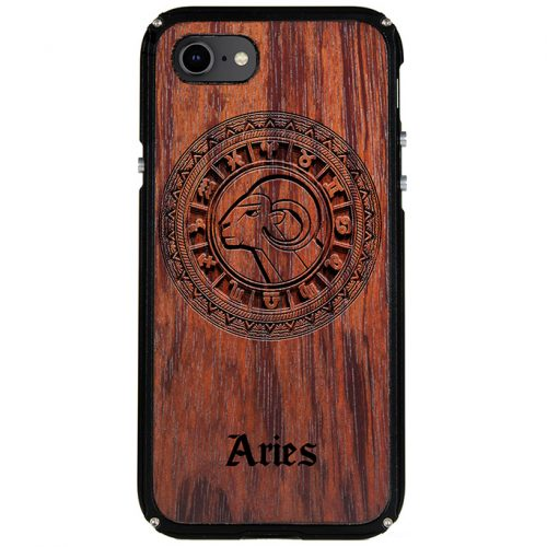 Aries iPhone 8 Case Aries Tattoo Horoscope iPhone 8 Cover
