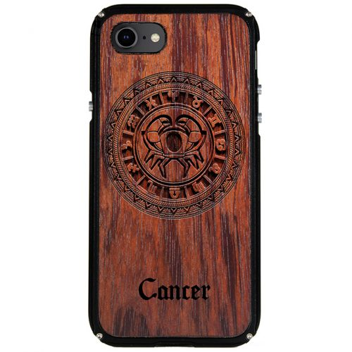 Cancer iPhone 8 Case Cancer Tattoo Horoscope iPhone 8 Cover