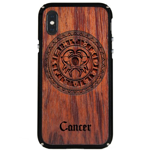 Cancer iPhone X Case Cancer Tattoo Horoscope iPhone X Cover
