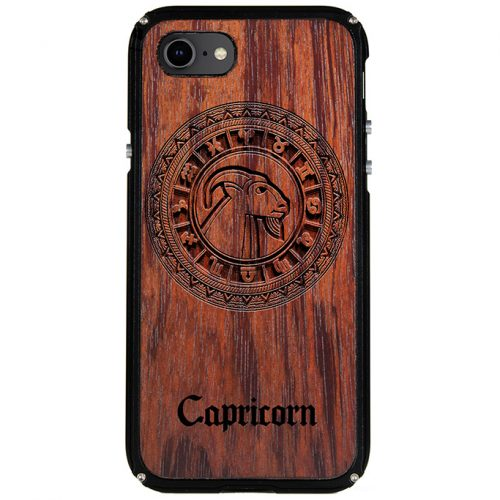 Capricorn iPhone 8 Case Capricorn Tattoo Horoscope iPhone 8 Cover