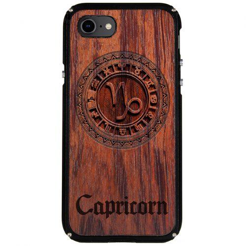 Capricorn iPhone 8 Case Capricorn Zodiac Tattoo Horoscope iPhone 8 Cover