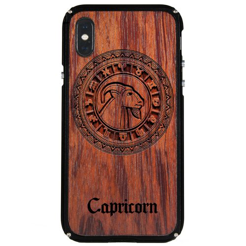 Capricorn iPhone X Case Capricorn Tattoo Horoscope iPhone X Cover