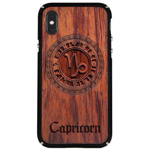 Capricorn iPhone X Case Capricorn Zodiac Tattoo Horoscope iPhone X Cover