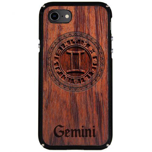 Gemini iPhone 8 Case Gemini Zodiac Tattoo Horoscope iPhone 8 Cover