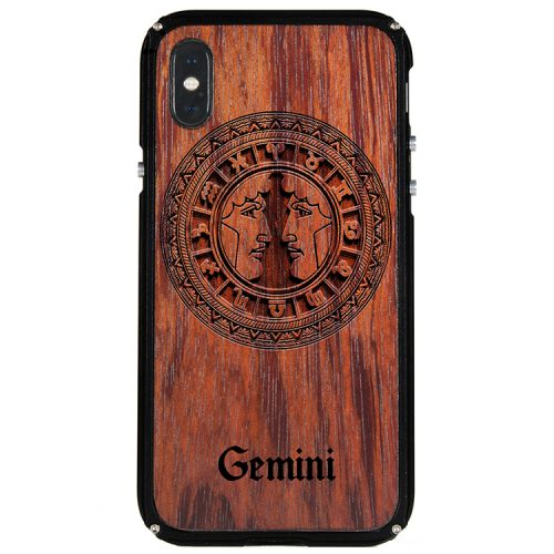 Gemini iPhone X Case Gemini Tattoo Horoscope iPhone X Cover