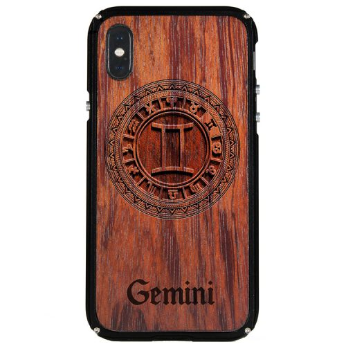 Gemini iPhone X Case Gemini Zodiac Tattoo Horoscope iPhone X Cover