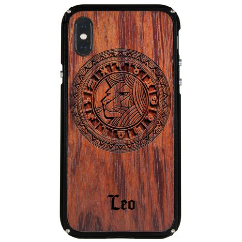 Leo iPhone X Case Leo Tattoo Horoscope iPhone X Cover