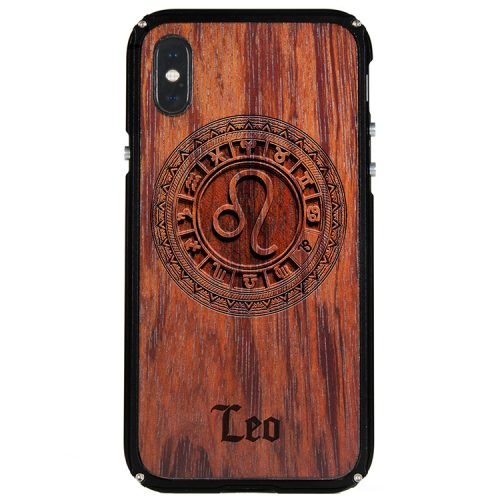 Leo iPhone X Case Leo Zodiac Tattoo Horoscope iPhone X Cover
