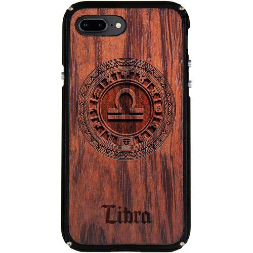Libra iPhone 8 Plus Case Libra Zodiac Tattoo Horoscope iPhone 8 Plus Cover
