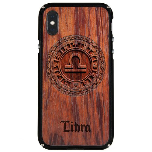 Libra iPhone X Case Libra Zodiac Tattoo Horoscope iPhone X Cover