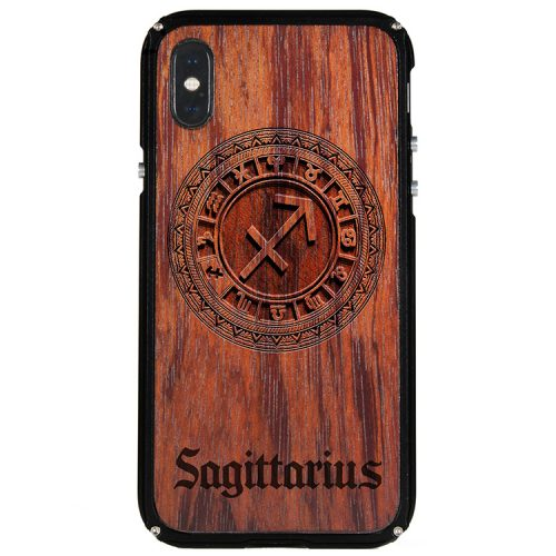 Sagittarius iPhone X Case Sagittarius Zodiac Tattoo Horoscope iPhone X Cover