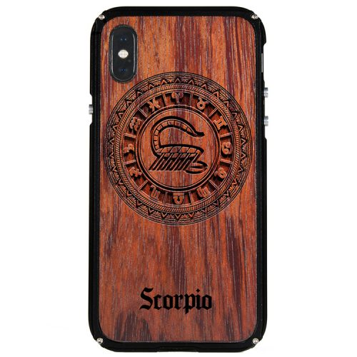 Scorpio iPhone X Case Scorpio Tattoo Horoscope iPhone X Cover