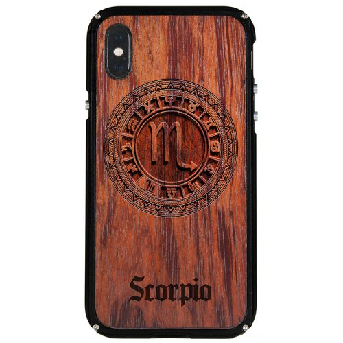 Scorpio iPhone X Case Scorpio Zodiac Tattoo Horoscope iPhone X Cover