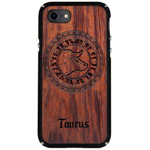 Taurus iPhone 8 Case Taurus Tattoo Horoscope iPhone 8 Cover