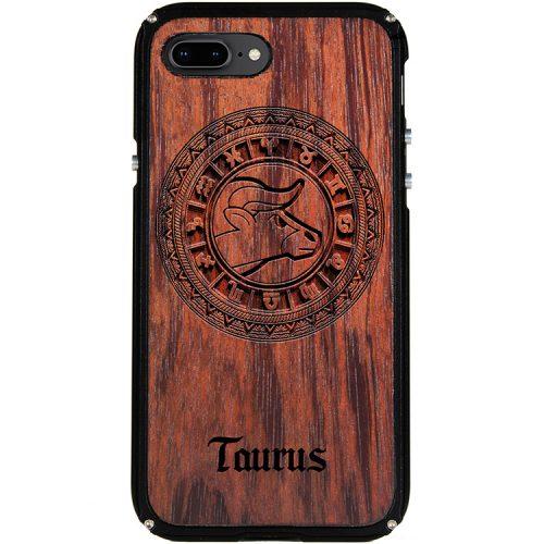 Taurus iPhone 8 Plus Case Taurus Tattoo Horoscope iPhone 8 Plus Cover