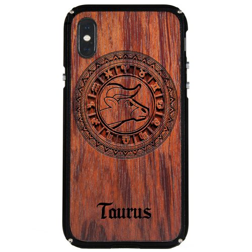 Taurus iPhone X Case Taurus Tattoo Horoscope iPhone X Cover